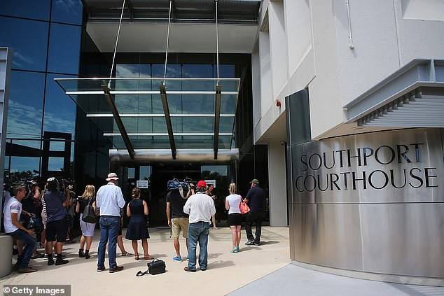 Magistrate Howden said that kind of behavior would not be tolerated by the court and fined the tradie $1000 at the Southport Magistrates Court (pictured)