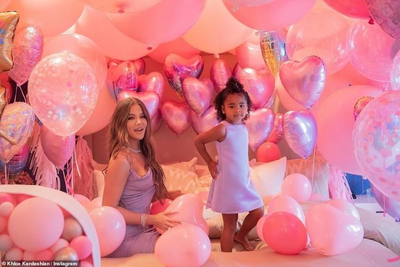 Happiness: The room was covered in balloons, including hand painted ones