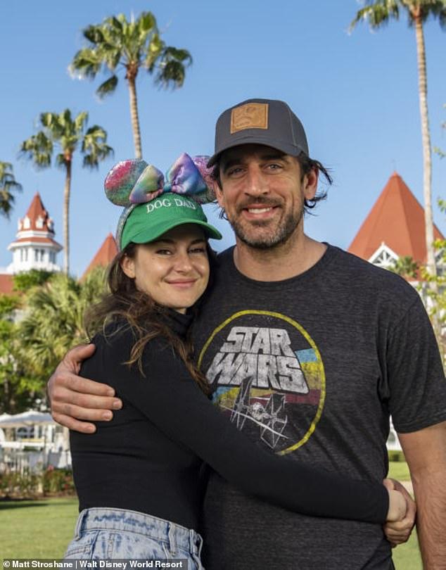 Making magic: The couple visitedWalt Disney World Resort in Lake Buena Vista, Florida on April 6
