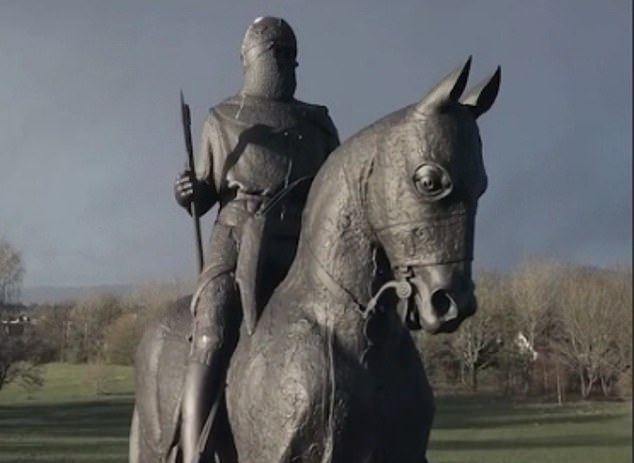 Alex Salmond has trumped them all with the ultimate celebrity endorsement: Robert the Bruce