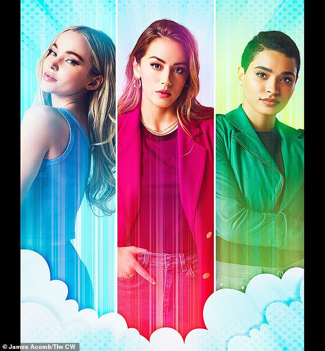 First look: The 25-year-old actresswas featured along with co-stars Chloe Bennet, 28, and Yana Perrault, 25, in a first-look poster for The CW series released Monday