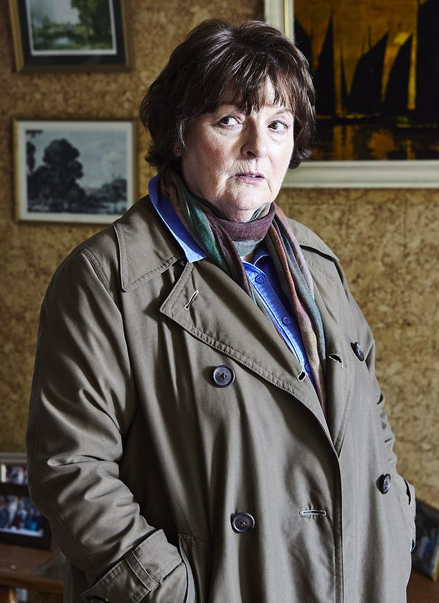 Not happy: The majority of the complaints were about a news bulletin interrupting a repeat of British crime drama Vera, starring Brenda Blethyn
