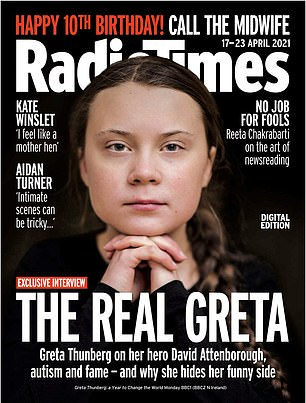 Say it all: read the full interview in this week's Radio Times, now available