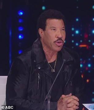 Lionel Richie reckoned Pike was on his 'way to something big'