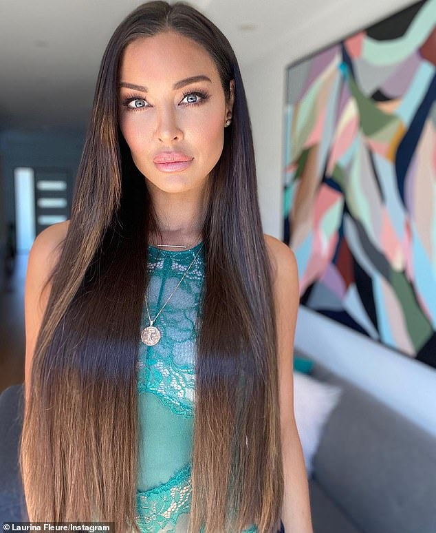 'Humiliated':The footage was viewed on Celeb Spellcheck more than 100,000 times before it was deleted, and Laurina later said she felt 'humiliated' by the exposure