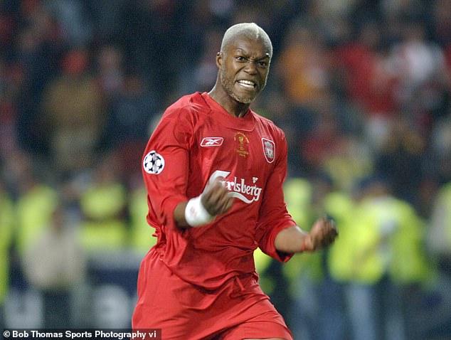 Cisse se unió al Liverpool en 2004, pero las lesiones le impidieron hacer un impacto considerable