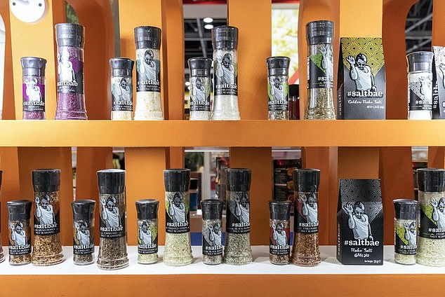 As of February 2021, Gökçe and the eateries even began selling products that included flavored gourmet salts and steak seasonings that too included unauthorized copies of the artwork on their packaging, the lawsuit contends