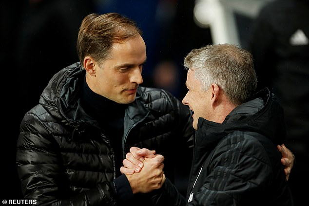 Chelsea boss Thomas Tuchel (L) and United boss Ole Gunnar Solskjaer (R) are both keen, according to reports