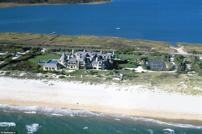 Other big sales include the $84.4 million purchase of 650 Meadow Lane in Southampton, designer Calvin Klein's oceanfront villa (above) to billionaire hedge fund manager Ken Griffin