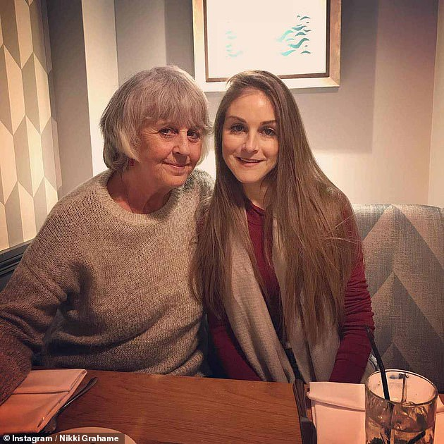 Family:David passed away nine days after Nikki, with his ex-wife and Nikki's mum Sue saying he was fighting to get their daughter help in his final weeks (Sue and Nikki are pictured)