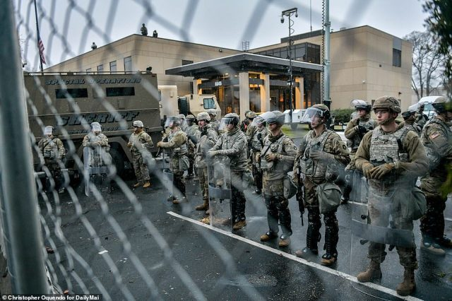 The National Guard has been called in to defend the Brooklyn Center Police Department.In her resignation letter, Potter - who has worked for the department for 26 years - did not address the deadly shooting that has sparked two days of violent protests and unrest across the city