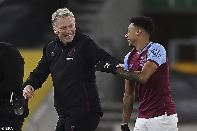 Former Man United manager David Moyes has been delighted with Lingard's contribution
