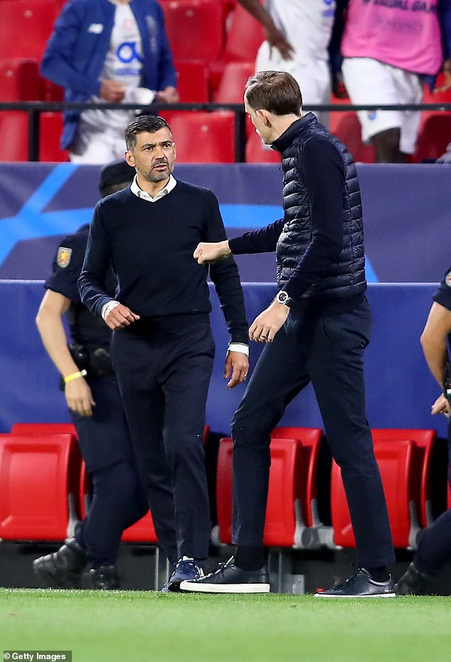 According to reports in Portugal, the German told his counterpart to 'f*** off' at full-time