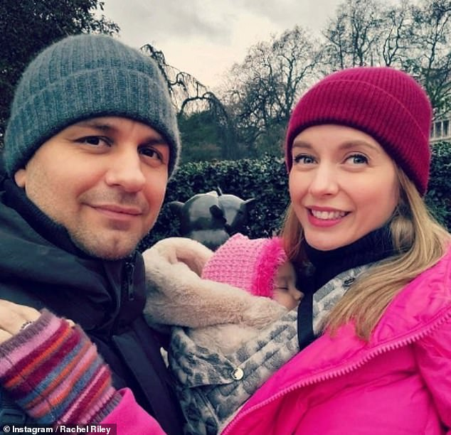 Together: It comes just weeks after Rachelspoke about her hopes of having another baby with her former Strictly Come Dancing star Pasha