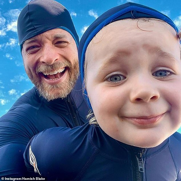 Daddy-daughter time! On Wednesday, Tourism Australia ambassador Hamish Blake, 39, shared an adorable picture alongside his daughter Rudy after undertaking a water-based adventure