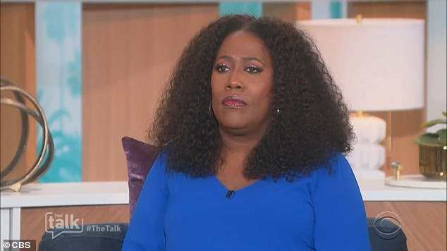 Yikes: Sharon left the show after her explosive on-air row with co-host Sheryl Underwood on March 10, and although the show returned to the screen this week after being pulled from the schedules as a review of the incident was being carried out, Sharon was not among viewers