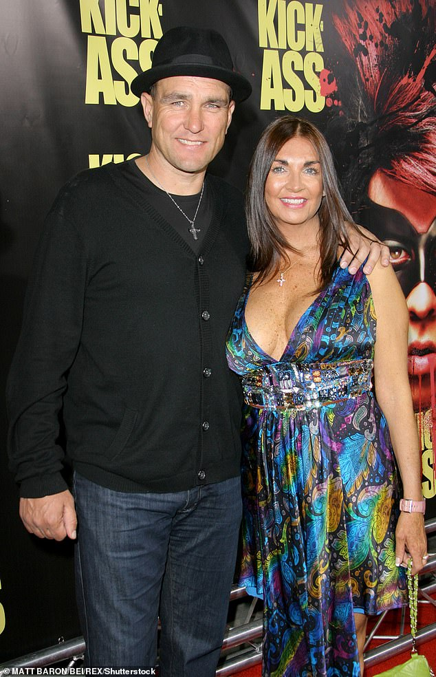 Death: The actor has been open about his grief after his wife died at the age of 53 at their home in California (pictured in 2010)