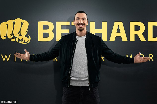 Ibrahimovic was announced as co-owner and ambassador of Bethard in 2018