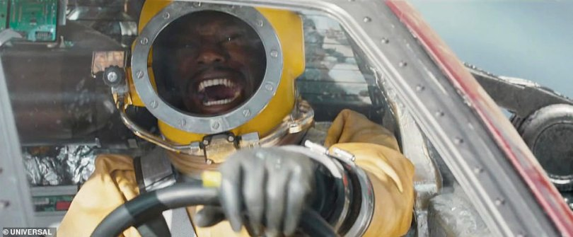 Woah! Dom had been leading a quiet life off the grid when he was forced to confront his past in an epic new edit which shows the cast reaching new heights in their need for speed as they launch into space