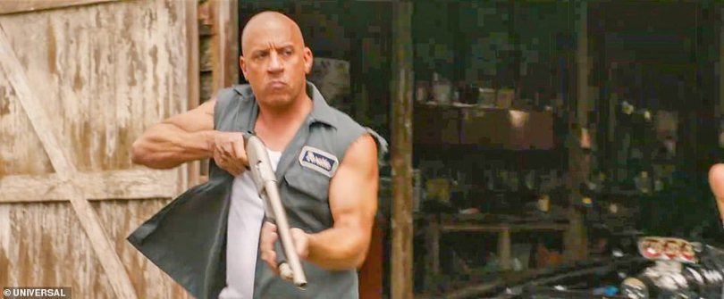 Too fast:Vin Diesel is back to battle for — and against — his family as John Cena makes his debut as Dominic Toretto's long-lost brother in an explosive new trailer for F9 released on Wednesday morning
