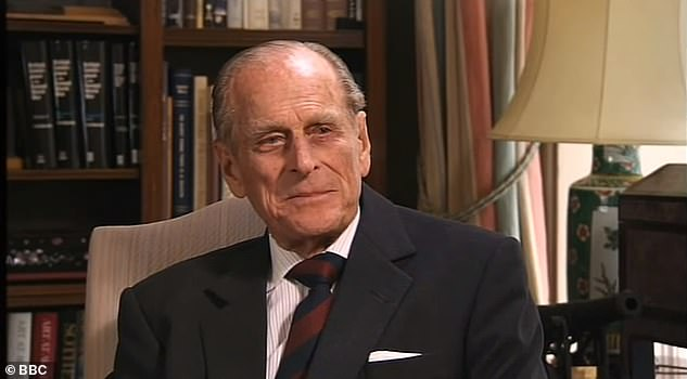 The 50-year-old veteran broadcaster spoke to The Duke of Edinburgh (pictured) in 2010 as part of the Queen's birthday celebrations for the BBC's Trooping the Color broadcast.