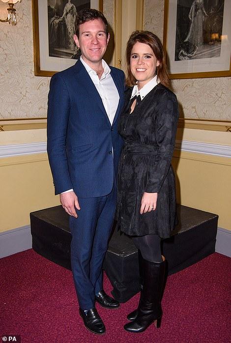 Princess Eugenie and her husband Jack Brooksbank