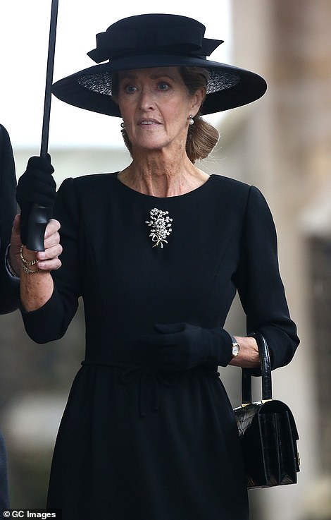 The 30 guests at Prince Philip's funeral have been revealed and include his best female friend from Sandringham, Penelope Knatchbull, but not Sarah Ferguson, who the Duke famously branded 'beyond the pale'.