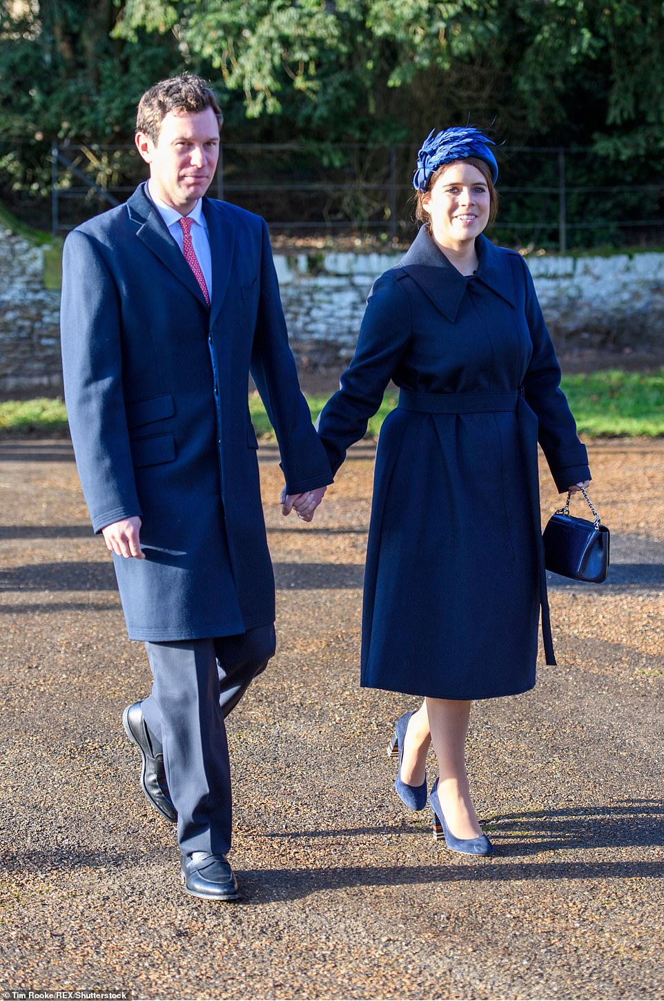 Jack Brooksbank, the husband of Eugenie, daughter of the duchess and the Duke of York, will also attend