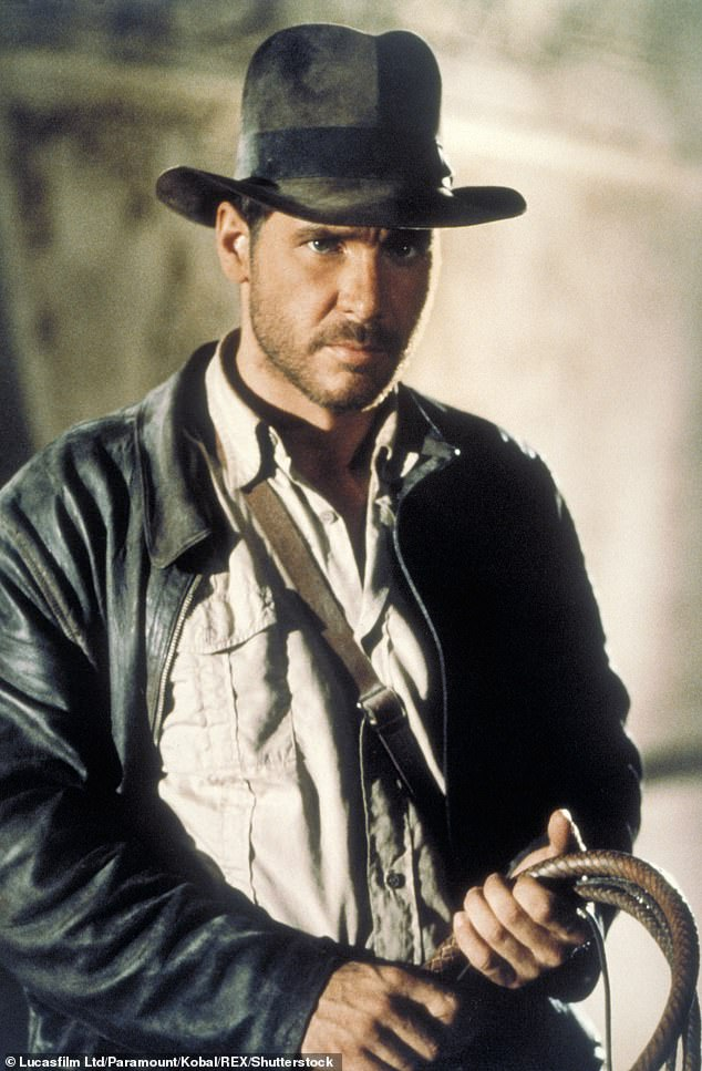 Beloved: Indiana Jones won audiences over with 1981's Raiders Of The Lost Ark (pictured), which is widely regarded as one of the best films in the action-adventure genre
