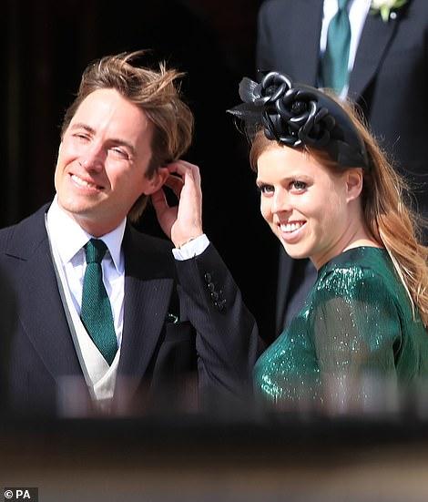 Princess Beatrice and her husband Mr Edoardo Mapelli Mozzi