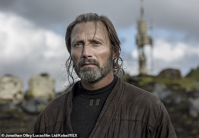 Mystery role: While it's unclear who he will play, Mads has appeared in the James Bond, Marvel, and Star Wars franchises in the past (pictured in Rogue One: A Star Wars Story)