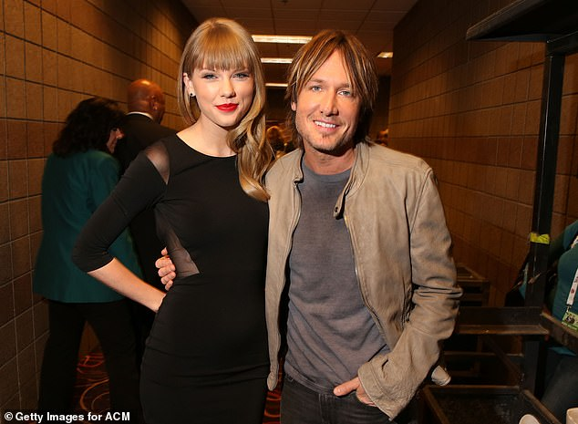 Chance encounter: The star also revealed he was doing last minute Christmas shopping in Australia when Taylor asked him to appear on the album