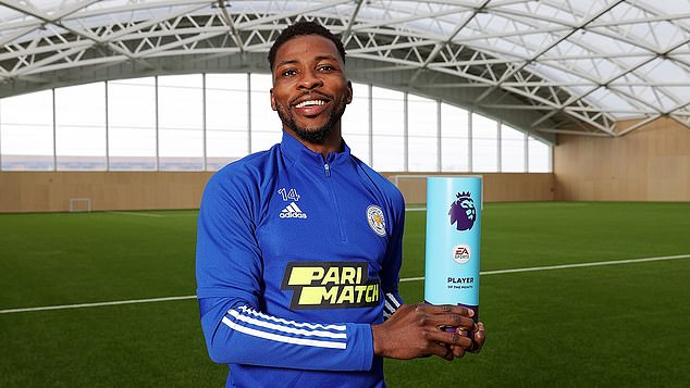 Iheanacho was the Premier League player of the month for March