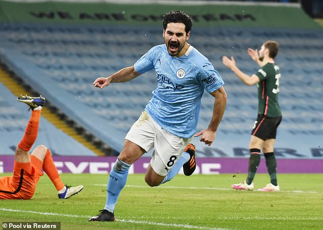 Ilkay Gundogan's goals have been crucial in propelling Manchester City to the top of the table