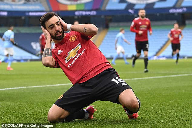 Bruno Fernandes has been a consistent threat for high-flying Manchester United this season