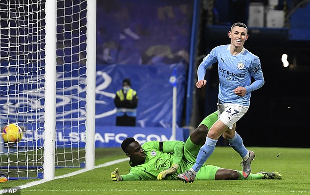 Phil Foden (right) could be in line for a Player of the Year and Young Player of the Year double