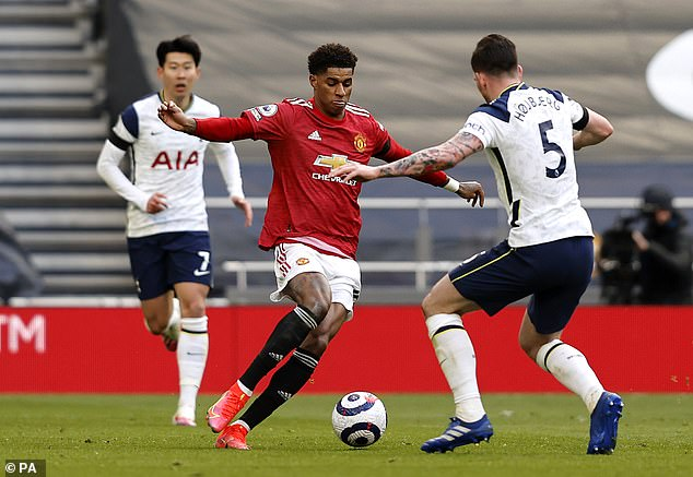 Striker Marcus Rashford may return to the United team for Sunday's meeting with Burnley