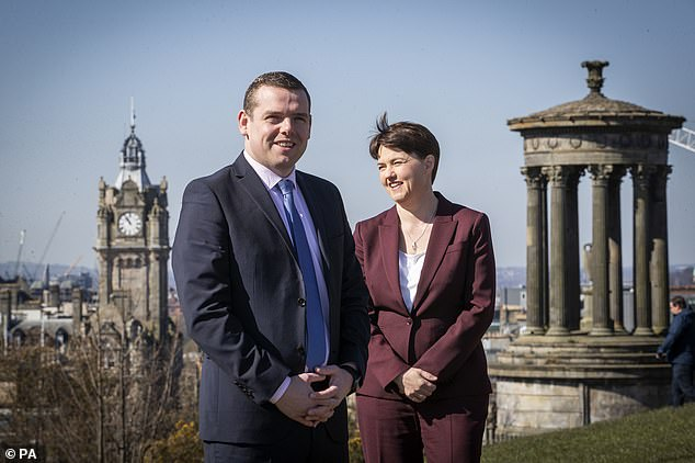 Party leader Douglas Ross accused the First Minister of unveiling a 'fantasy wishlist' that stood no chance of begin implemented.