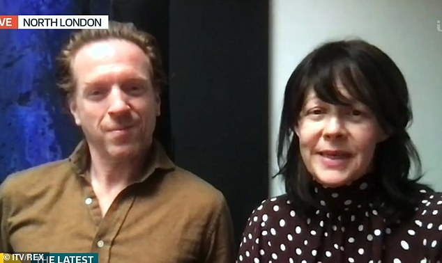 Peaky Blinders and Harry Potter star Helen McCrory has passed away at 52 after 'heroic battle' with cancer, her husband Damian Lewis confirmed this afternoon (the couple are pictured last month on Good Morning Britain)