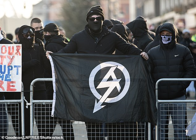 Powell shared tweets showing support for banned neo-Nazi group National Action, who were officially proscribed as a terrorist organisation in December 2016 following joint working between government agencies and police.