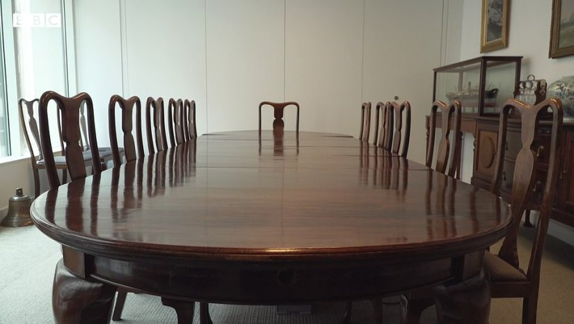 It was an appropriately unusual start for a man who led such an extraordinary life. And the dining room table on which Philip was born has been saved for posterity – sitting in the boardroom of a shipping company in the City of London