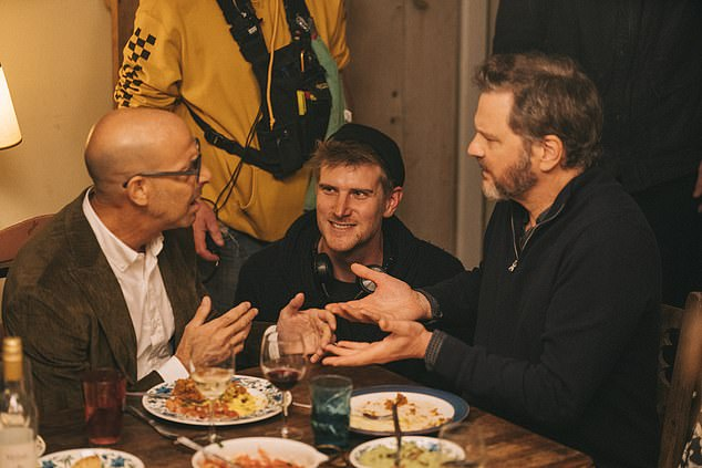 Working with the best: The director, whose directorial debut was the 2014 film Hinterland, praised the acclaimed stars for choosing to bring his 'comparatively small film' to life