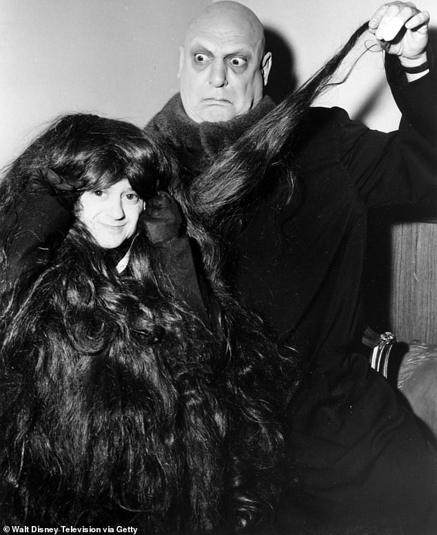 Spot it in the costume: Although Felix wore the prosthesis for Cousin Itt throughout the series from 1964 to 1966, the voice was given uncredited by Tony Magro