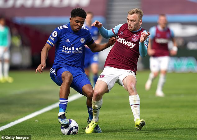 The 20-year-old defender (left) has adapted effortlessly to the Premier League this season