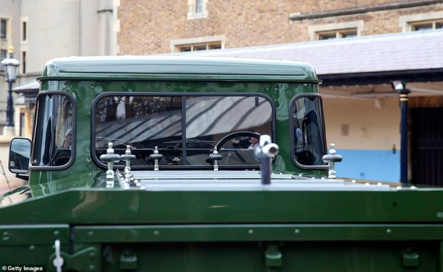 Details on the vehicle include matching green hubs, a black front grille, a single cab and no registration plates
