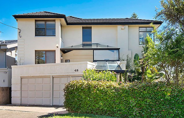 Tradie Theo Alexakis lost his deposit for the five bedroom house in Sydney (pictured) as well as any claim to buy the property
