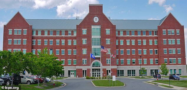 A Loudoun County Public School is pictured.Loudoun County is the richest county in the US with a median household income of $142,299. Public schools there have commenced a push for 'equity', which is dividing parents