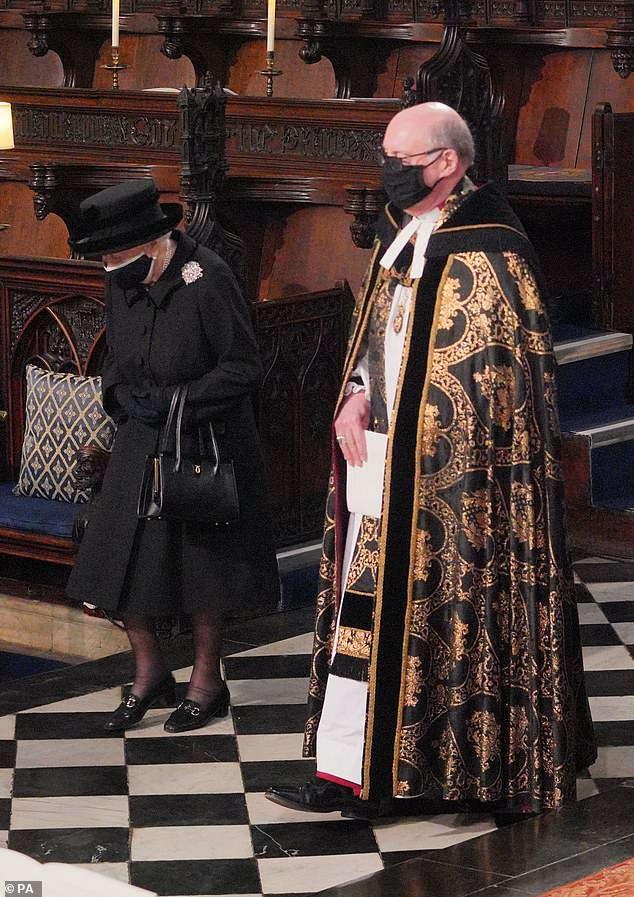 Covid regulations meant that mourners were limited to 30 and sat in their household bubbles. It brought it home to us, with stark clarity, that the Duke of Edinburgh was the Queen's bubble. He was her support