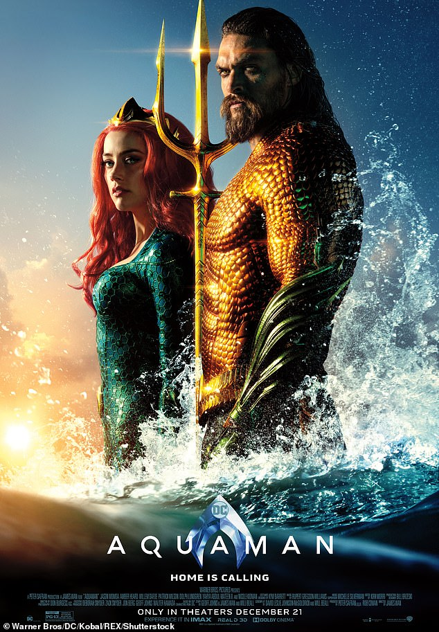 Remember when: she once denied rumors that she was kicked out of the franchise;  she is pictured in the first movie with her lead man Jason Momoa