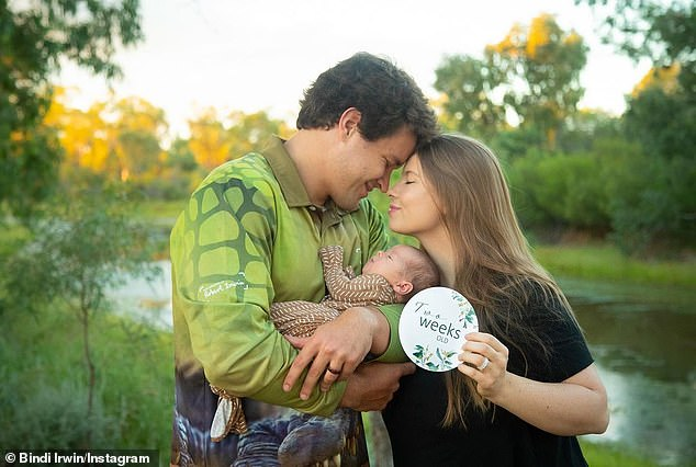 Parents: Grace was born on the couple's first wedding anniversary, as they tied the knot on the zoo grounds in March 2020 amid the coronavirus pandemic